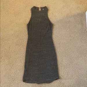 Dark Grey Knit Dress - Size Small